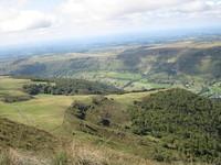 vue du Puy Violent, vallée
