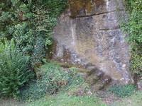 Fontanges vestiges de l'ancien château fort