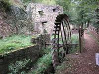 Thiers, ancienne roue vallée des rouets