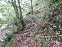 Thiers, vallée des rouets, sentier