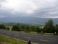 la plaine d'Ambert et les monts du Forez