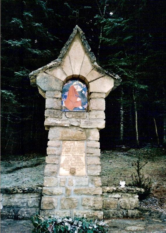 chemin de croix de Valchevrière, 7ème station