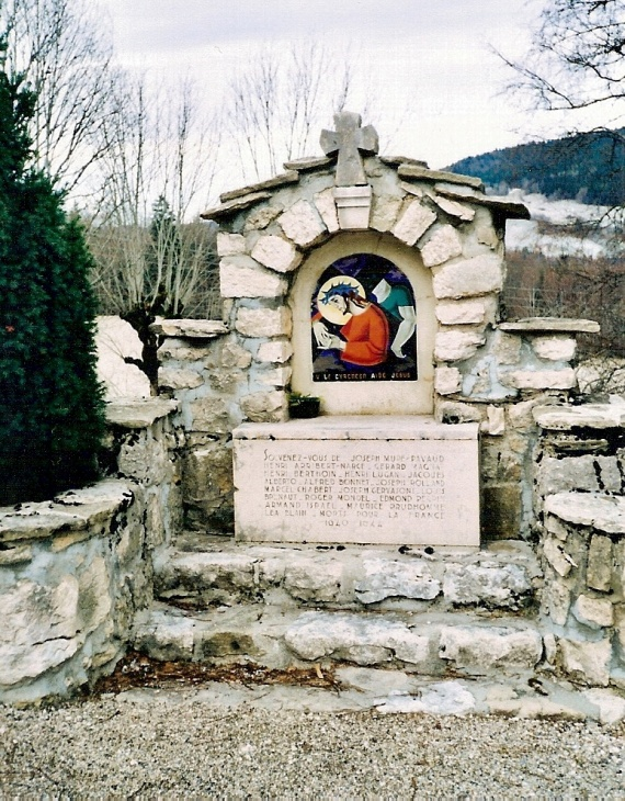 chemin de croix  Valchevrière,5ème station