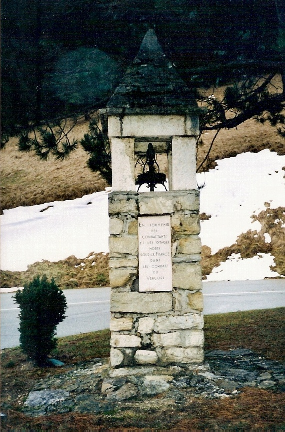 chemin de croix Valchevrière 1ère station