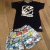 Pyjama été Freegun taille 16 ans. 6 euros