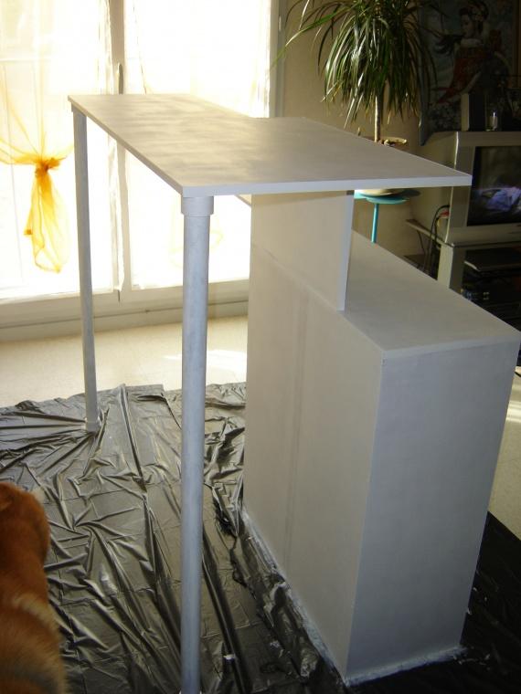 Etape 2 sous couche bar fabrication maison kiraya photos club doc - Bar fabrication maison ...