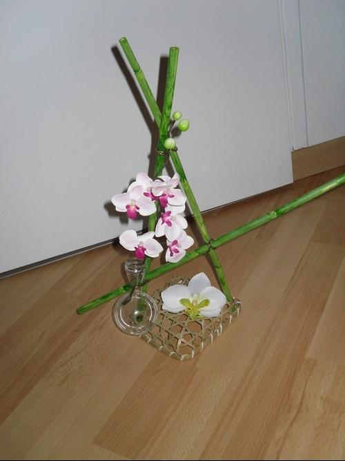 Notre 16 juillet 2011 zen sera le maitre mot mariage for Centre de table bambou