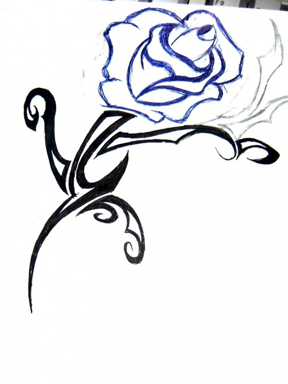 tatoo rose
