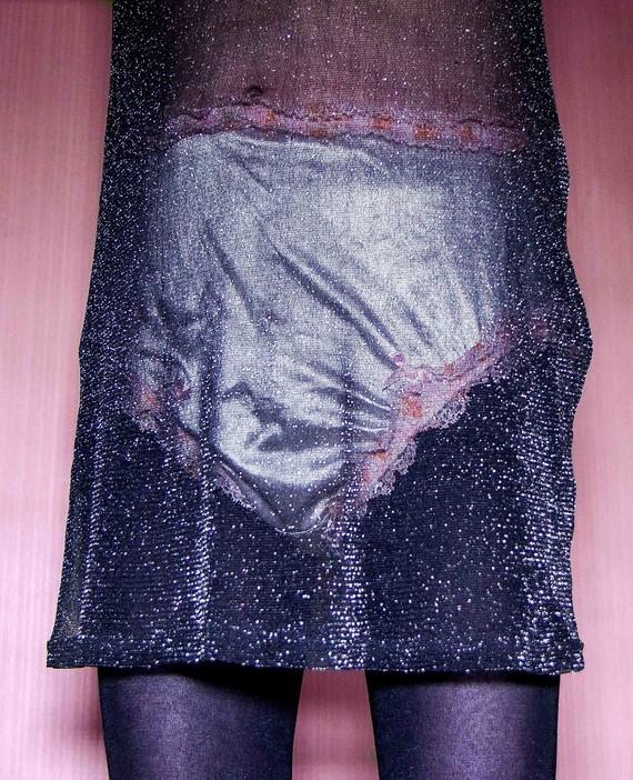 robe transparente