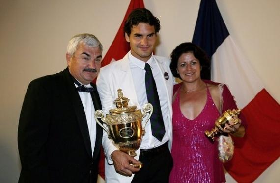 Parents de Roger Federer Roger et Ses Parents