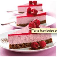Tarte chocolat framboise 2