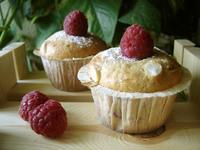 muffins framboises