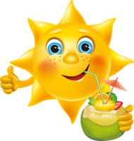 Le soleil...
