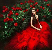 Femme / Roses