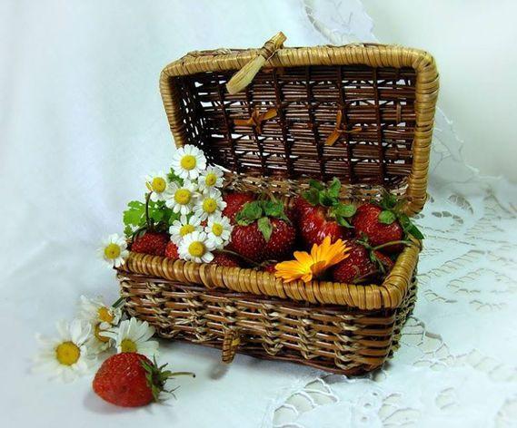 Humm les fraises...