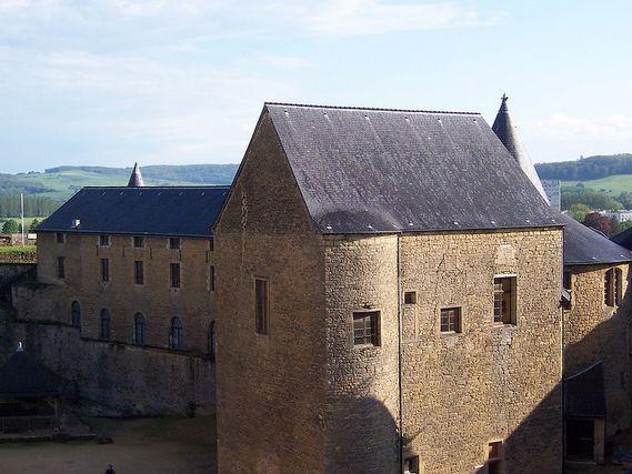 Château de Sedan dans les Ardennes