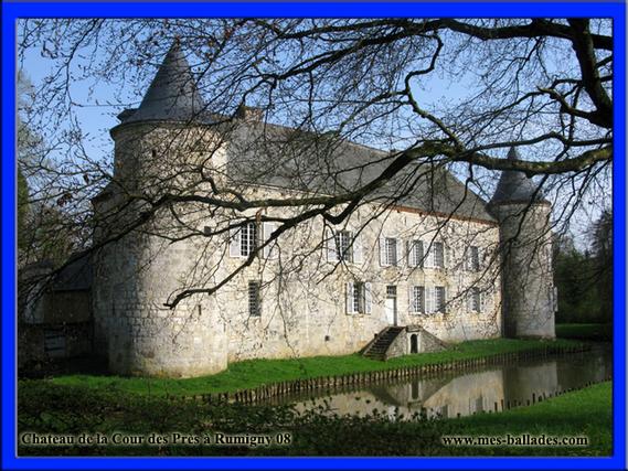 Château de la Cour des Prés dans les Ardennes