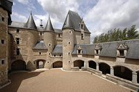 Château de Fougères-sur-Bièvre dans le Loir-et-Cher