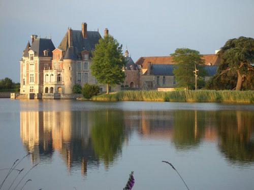 Château de la Bussière dans le Loiret