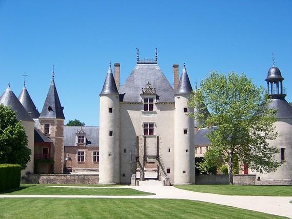 Château de Chamerolles dans le Loiret