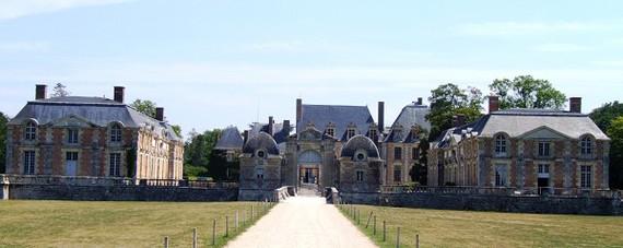 Château de la Ferté Saint Aubin dans le Loiret