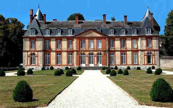Château de Malesherbes dans le Loiret