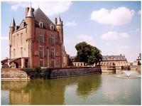 Château de Bellegarde dans le Loiret