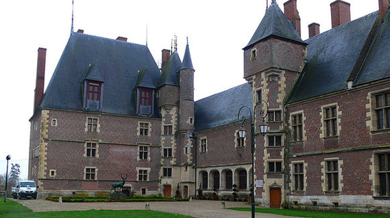 Château de Gien dans le Loiret
