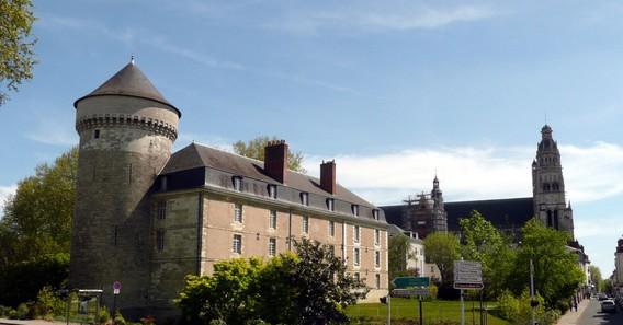 Château de Tours en Indre-et-loire
