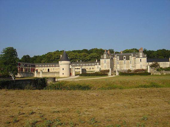 Château de Gizeux en Indre-et-Loire