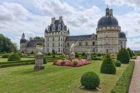 Château de Valençay dans l'Indre