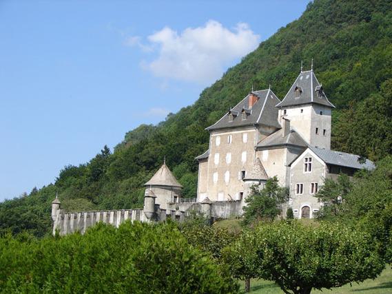 Château de Beauregard en haute-Savoie