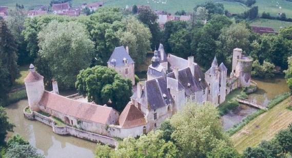 Château de Bannegon dans le Cher