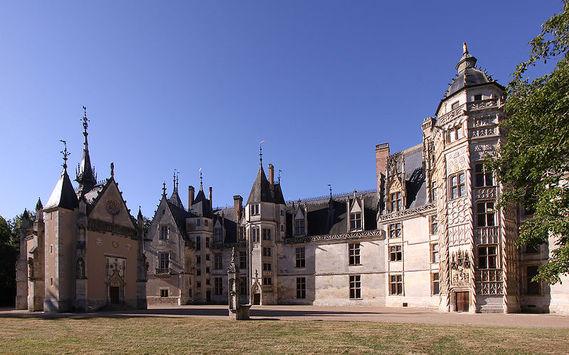Château de Meillant dans le Cher
