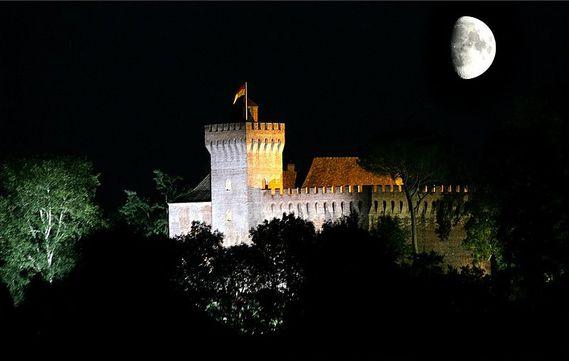 Château de Morlanne dans les Pyrénées-Atlantiques