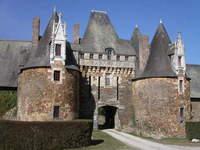 Château de la Motte-Glain en Loire-Atlantique