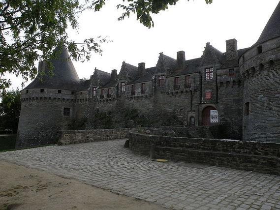 Château de Pontivy dans le Morbihan