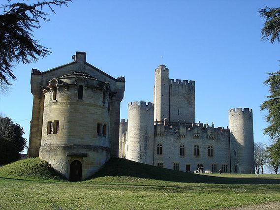 Château de Roquetaillade en Gironde