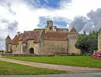 Château de Sagonne dans le Cher