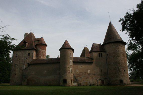 Château de Thoury dans l'Allier