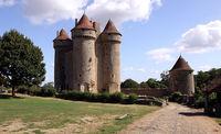 Château de Sarzay dans l'Indre