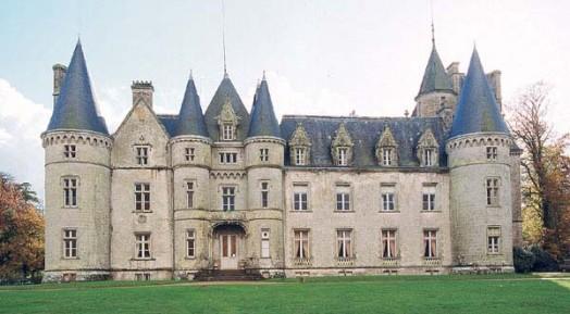 Château de Trédion dans le Morbihan