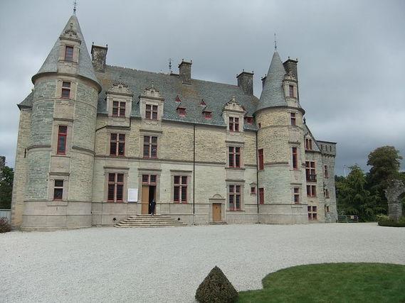 Château des Ravalet dans la Manche