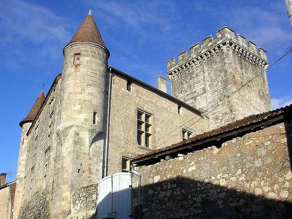 Château de Xaintrailles dans le Lot-et-garonne