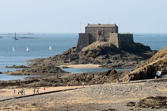 Fort du Petit Bé à Saint-Malo en Ille-et-Vilaine