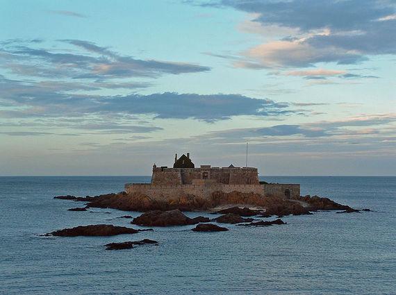 Fort National à Saint-Malo en Ille-et-Vilaine
