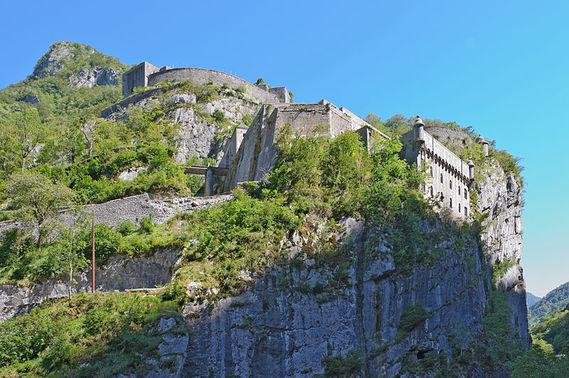 Fort du Portalet dans les Pyrénées-Atlantiques