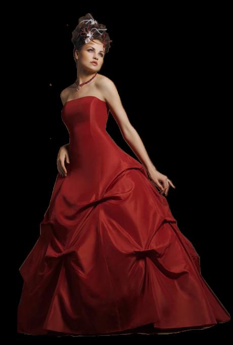 Belle femme en rouge....2