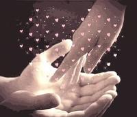 Il pleut des torrents de soupirs...Des cœurs