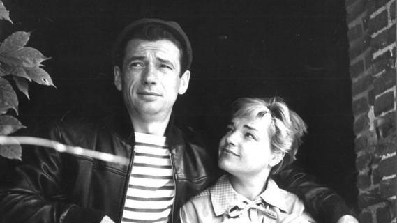 Simone Signoret----Montand